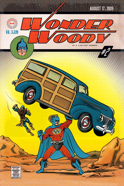 Wonder Woody front